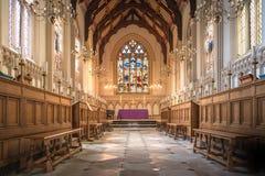 Corpus Christi szkoły wyższa kaplica obrazy stock
