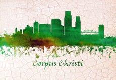 Corpus Christihorisont stock illustrationer