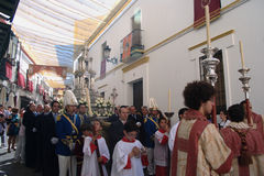 Corpus Cristi celebrations 17 Stock Photography