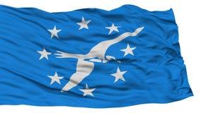 Corpus d'isolement Christi City Flag, Etats-Unis d'Amérique Images libres de droits