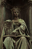 Corpus Juris Statue Stock Photography