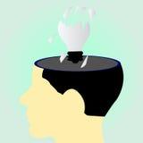 Corra de ideas Imagen de archivo libre de regalías