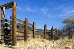 Corral. A corral near Apache Junction in Arizona Stock Photos
