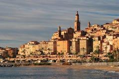 Corral D'Azur Menton de Francia Fotografía de archivo libre de regalías
