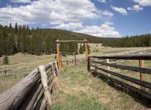 Corral de bétail photos stock