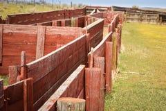Corral de las ovejas Fotografía de archivo