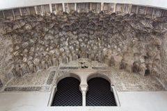 Corral del Carbon in Granada, great treasure of the Moorish peri. Od, Andalusia, Spain Stock Images