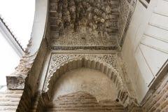 Corral del Carbon in Granada, great treasure of the Moorish peri. Od, Andalusia, Spain Stock Photography