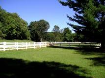 Corral del montar a caballo Fotografía de archivo