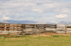 Corral Fence Royalty Free Stock Photography