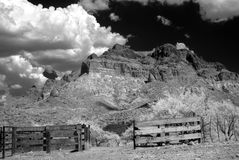 Corral in The Sonora desert. In central Arizona USA Royalty Free Stock Photography