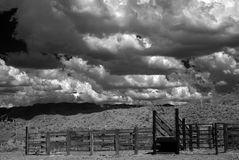 Corral in The Sonora desert Royalty Free Stock Photo