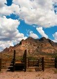 Corral. Sonora desert in central Arizona USA Royalty Free Stock Photo