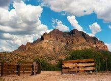 Corral. In Sonora desert in central Arizona USA Stock Image