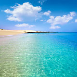 Corralejo Beach Fuerteventura at Canary Islands Stock Images
