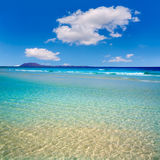Corralejo Beach Fuerteventura at Canary Islands Royalty Free Stock Images
