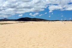 Corralejo Beach on Fuerteventura Stock Photo