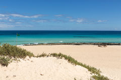 Corralejo Beach on Fuerteventura Royalty Free Stock Photos