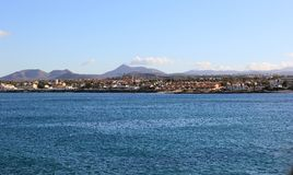 Corralejo, Fuerteventura, Canarische Eilanden. Stock Fotografie
