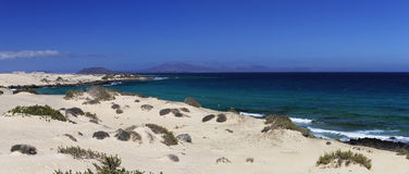 Corralejo National Park Royalty Free Stock Images