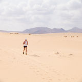 CORRALEJO - OCTOBER 30:  Runners Royalty Free Stock Image