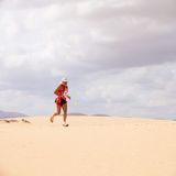CORRALEJO - OCTOBER 30:  Runners Stock Photography