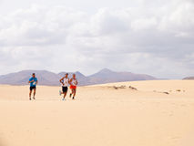 CORRALEJO - OCTOBER 30:  Runners Royalty Free Stock Photography