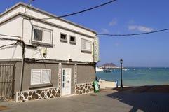 Corralejo Old Town in Fuerteventura stock photos
