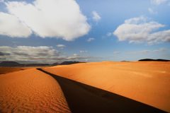 Corralejo piaska diuny Fuertaventura Fotografia Stock