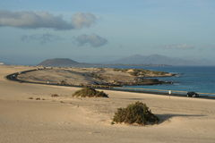 Fuerteventura in Spain Stock Image