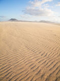 Corralejo sand dunes nature park Stock Images