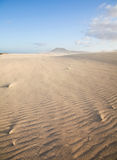 Corralejo sand dunes nature park Royalty Free Stock Images