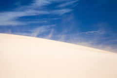 Corralejo sand dunes Royalty Free Stock Photography