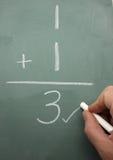 Correção da matemática Imagem de Stock