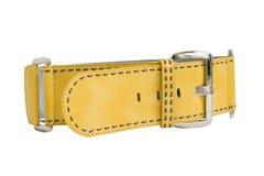 Correa amarilla imágenes de archivo libres de regalías