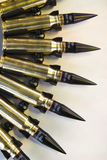 Correa de la munición de la ametralladora Imagenes de archivo