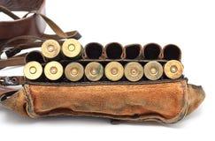 Correa de la munición de la vendimia Imágenes de archivo libres de regalías