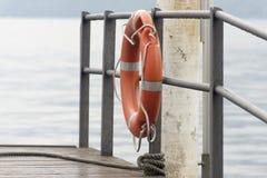 Correa de vida anaranjada Imagen de archivo libre de regalías