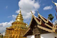 Correa de Wat Pra That Sri Chom Imágenes de archivo libres de regalías