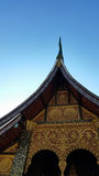 Correa de Wat Xieng Fotografía de archivo libre de regalías