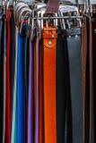 Correas coloridas imagen de archivo