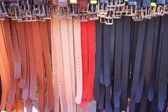 Correas coloridas Fotos de archivo