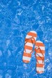 Correas de la piscina Fotos de archivo libres de regalías