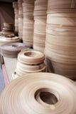 Correas de madera de los muebles imagen de archivo