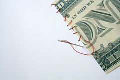 Correcção de programa do dinheiro Imagem de Stock