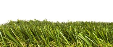 Corrección de la hierba artificial fotos de archivo libres de regalías