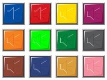 Correcte kleurenknopen Royalty-vrije Stock Foto's