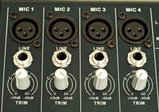 Correcte mixer Stock Foto's