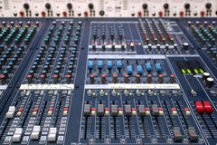 Correcte mixer Stock Fotografie