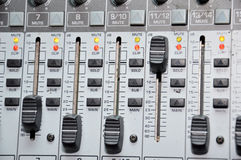Correcte mixer Stock Afbeelding